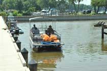 Osborne Boat Landing Cleanup